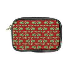 Tropical Stylized Floral Pattern Coin Purse