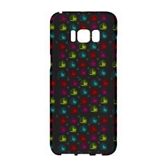 Roses Raining For Love  In Pop Art Samsung Galaxy S8 Hardshell Case  by pepitasart