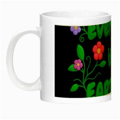 Earth Day Night Luminous Mugs by Valentinaart