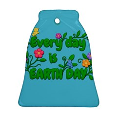 Earth Day Ornament (bell) by Valentinaart