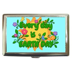 Earth Day Cigarette Money Cases by Valentinaart