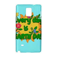 Earth Day Samsung Galaxy Note 4 Hardshell Case