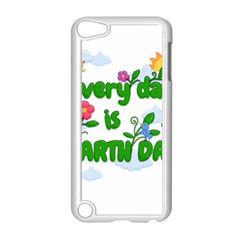 Earth Day Apple Ipod Touch 5 Case (white) by Valentinaart