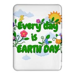Earth Day Samsung Galaxy Tab 4 (10 1 ) Hardshell Case  by Valentinaart