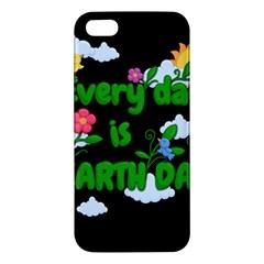 Earth Day Apple Iphone 5 Premium Hardshell Case