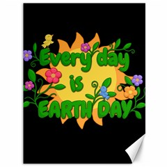 Earth Day Canvas 36  X 48   by Valentinaart