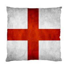 England Flag Standard Cushion Case (one Side) by Valentinaart