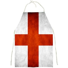 England Flag Full Print Aprons by Valentinaart