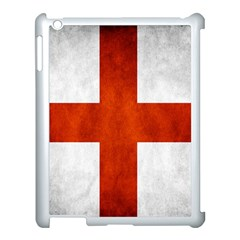 England Flag Apple Ipad 3/4 Case (white) by Valentinaart