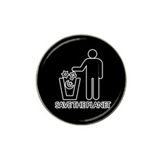 Save The Planet   Religions  Hat Clip Ball Marker