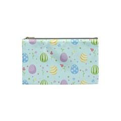 Easter Pattern Cosmetic Bag (small)  by Valentinaart