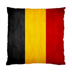 Belgium Flag Standard Cushion Case (one Side) by Valentinaart