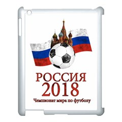 Russia Football World Cup Apple Ipad 3/4 Case (white) by Valentinaart