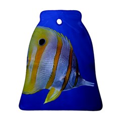 Butterfly Fish 1 Bell Ornament (two Sides)