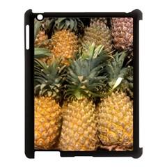 Pineapple 1 Apple Ipad 3/4 Case (black) by trendistuff
