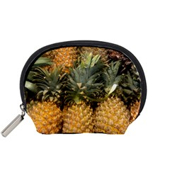 Pineapple 1 Accessory Pouches (small)  by trendistuff