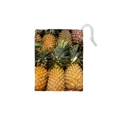 Pineapple 1 Drawstring Pouches (xs)  by trendistuff