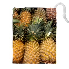 Pineapple 1 Drawstring Pouches (xxl) by trendistuff