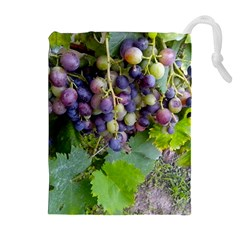 Grapes 2 Drawstring Pouches (extra Large)