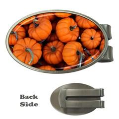 Pumpkins 2 Money Clips (oval)  by trendistuff
