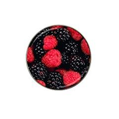 Raspberries 1 Hat Clip Ball Marker (10 Pack)