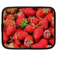 Strawberries 1 Netbook Case (xl)  by trendistuff