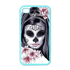 Day Of The Dead Apple Iphone 4 Case (color)