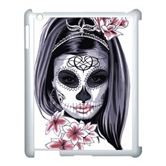 Day Of The Dead Apple Ipad 3/4 Case (white)
