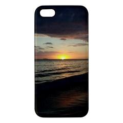 Sunset On Rincon Puerto Rico Apple Iphone 5 Premium Hardshell Case