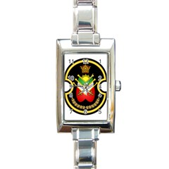 Shield Of The Imperial Iranian Ground Force Rectangle Italian Charm Watch by abbeyz71