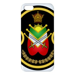 Shield Of The Imperial Iranian Ground Force Apple Iphone 5 Premium Hardshell Case by abbeyz71