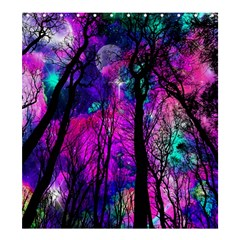 Magic Forest Shower Curtain 66  X 72  (large)  by augustinet
