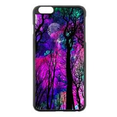 Magic Forest Apple Iphone 6 Plus/6s Plus Black Enamel Case by augustinet