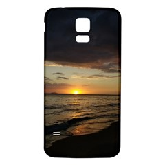 Sunset On Rincon Puerto Rico Samsung Galaxy S5 Back Case (white) by sherylchapmanphotography