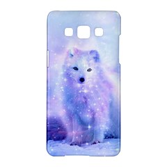 Arctic Iceland Fox Samsung Galaxy A5 Hardshell Case  by augustinet