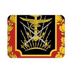 Logo Of Imperial Iranian Ministry Of War Double Sided Flano Blanket (mini)  by abbeyz71