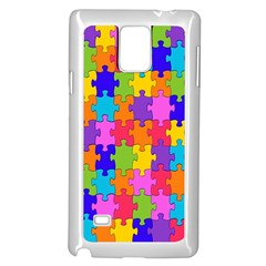 Colorful 10 Samsung Galaxy Note 4 Case (white) by ArtworkByPatrick