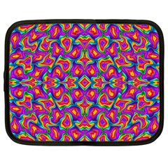 Colorful 11 Netbook Case (large)