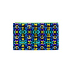 Colorful 14 Cosmetic Bag (xs) by ArtworkByPatrick
