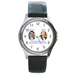 obama biden 2008 Round Metal Watch