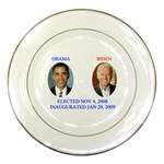 obama biden 2008 Porcelain Plate
