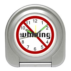 No Whining Travel Alarm Clock from ArtsNow.com Front