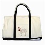 Donkey foal Two Tone Tote Bag