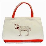 Donkey foal Classic Tote Bag (Red)