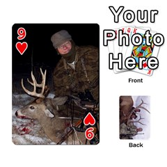 Trophy Cards By Darin Kerr   Playing Cards 54 Designs   Cq1z94nxdlj4   Www Artscow Com Front - Heart9