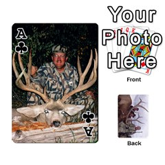Ace Trophy Cards By Darin Kerr   Playing Cards 54 Designs   Cq1z94nxdlj4   Www Artscow Com Front - ClubA