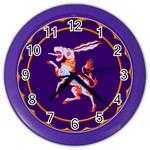Herald Donkey Color Wall Clock
