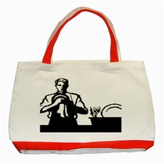 Considerate Classic Tote Bag (Red) by diamondcity
