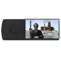 Mask USB Flash Drive Rectangular (2 GB) by diamondcity