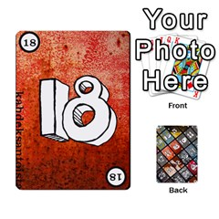 Geschenkt P2 By Jason Spears   Playing Cards 54 Designs   Cev8whi5rtjf   Www Artscow Com Front - Heart6